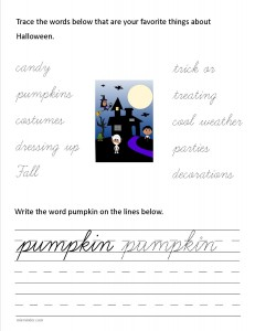 Download the cursive lower case letter p worksheet