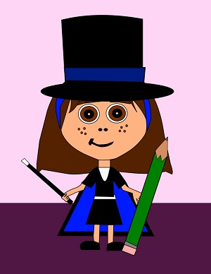 Teach counting with Mia the Math Magician