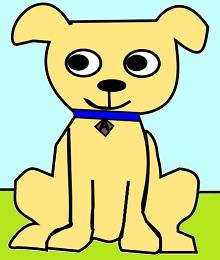 Clover the math dog