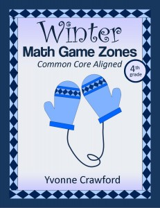 Winter Common Core Math Centers for Fourth Grade