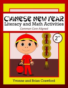 Chinese New Year Literacy and Math Activities for Second Grade