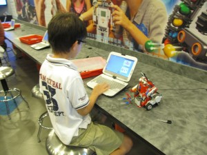 LEGO Mindstorms programming