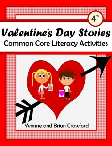 Valentine's Day Common Core Literacy Activities for Fourth Grade