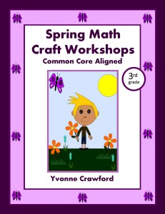 Spring Math Craft Centers for Third Grade