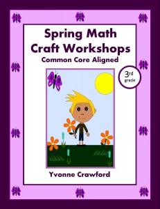 Spring Math Craft Centers for Third Grade