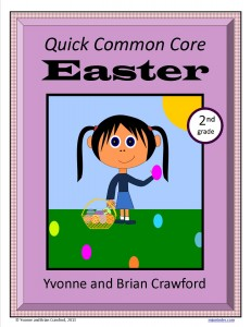 Easter math quick common core second grade1