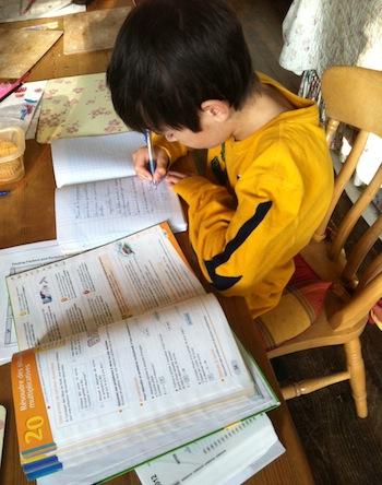 Teaching kids at home