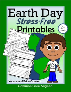 Earth Day Common Core Stress-Free Printables