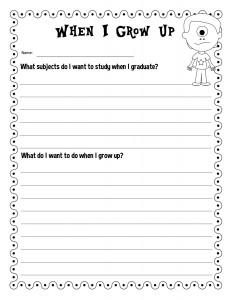 Career Day worksheet