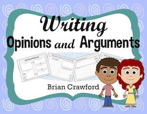 Writing Opinions and Arguments Common Core worksheets