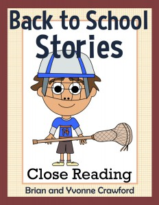 Back to School Reading Passages - Close Reading