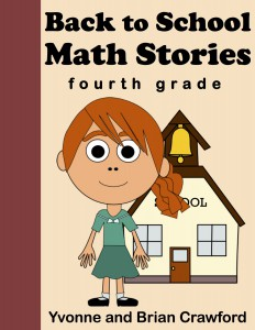 Back to School Math Stories - Fourth Grade