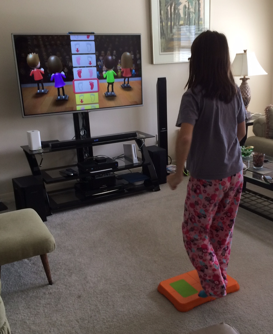 Video games for fun and fitness