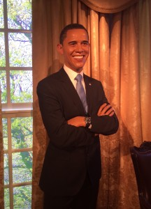 Barack Obama in wax