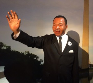 Martin Luther King, Jr. in wax