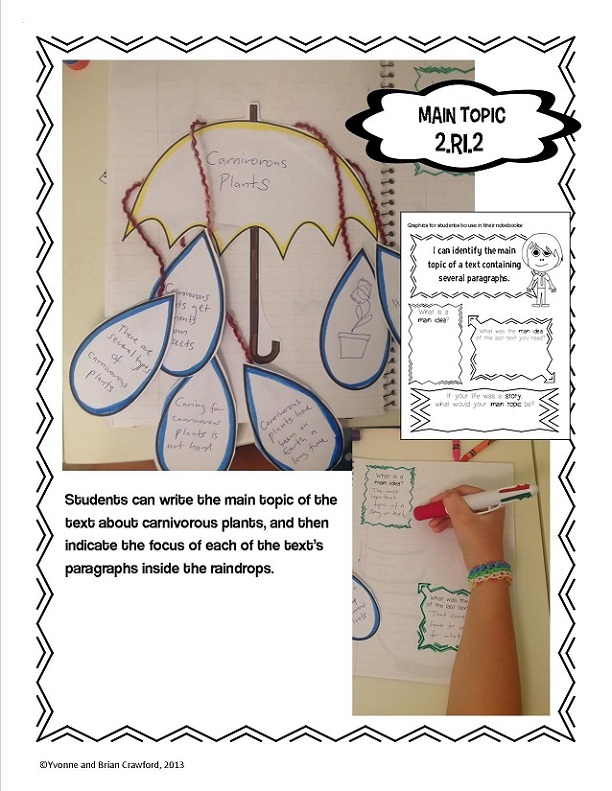 2nd grade hands on interactive notebook reading sample4