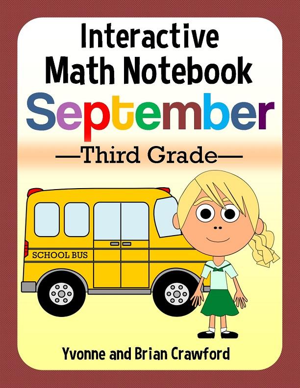3rd grade hands on interactive notebook - September (1)