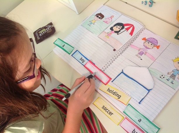 interactive reading notebook for 1st grade3