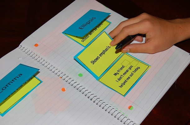 Interactive Writing Notebook for 8th Grade