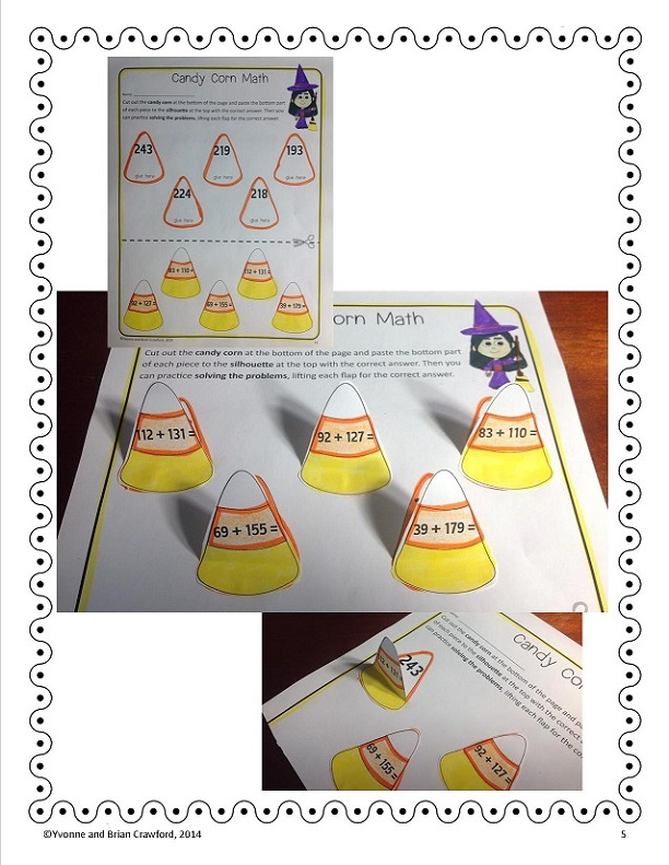 October Quick Printables 3rd grade - BC sample4