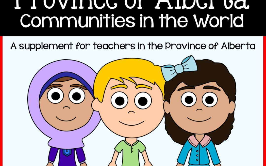 Free Alberta Social Studies: Communities in the World comparison activity