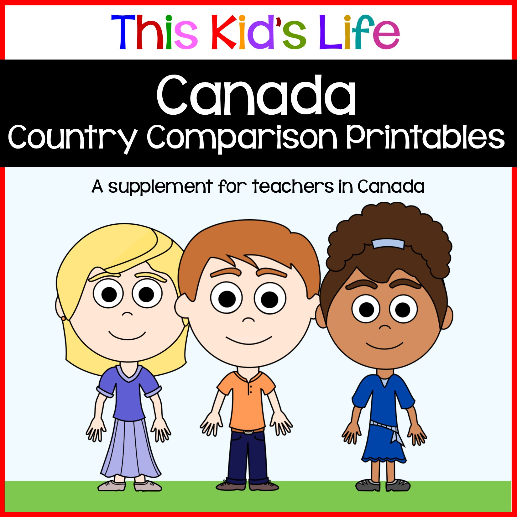 Canada country comparison activity