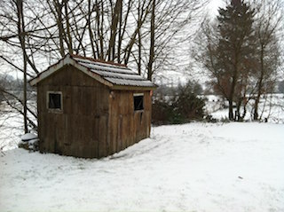 A winter poem and writing activity