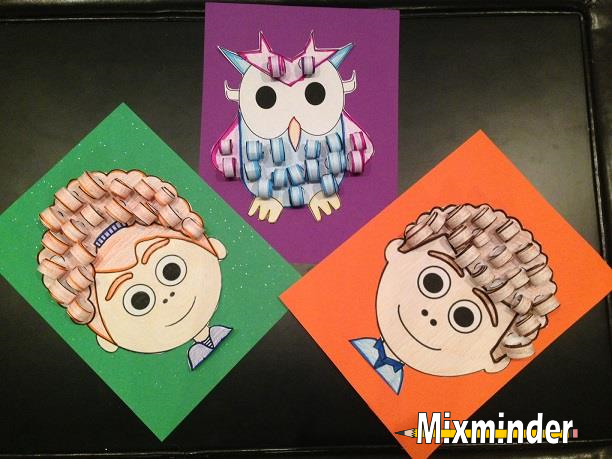 Back to School 3D Multiplication Art